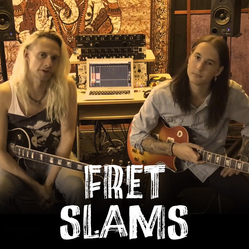 Do you want to learn how to play Billion Dollar Babies song I WANT TO SEE YOU BURN on guitar? Here is a instructional video from Pat Kramer & Max Lander with some tricks