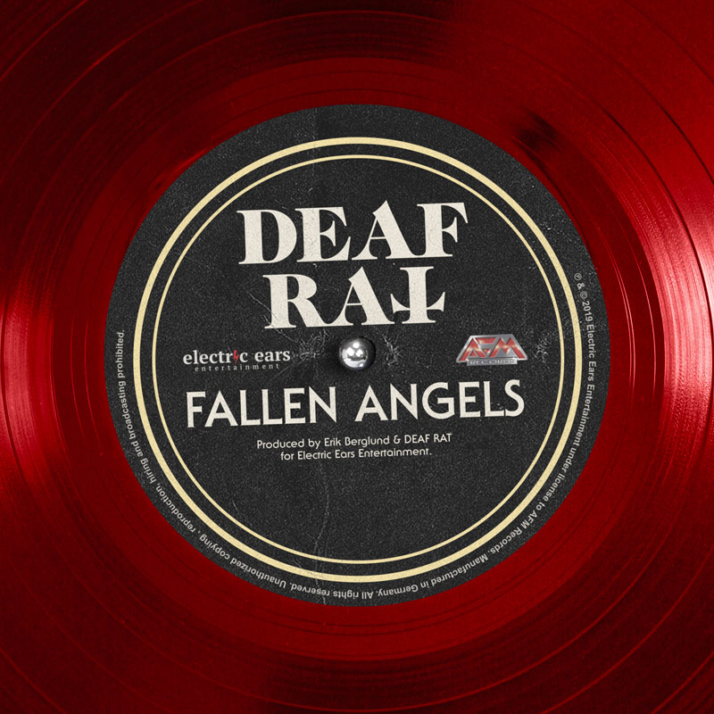 Deaf Rat single Fallen Angels