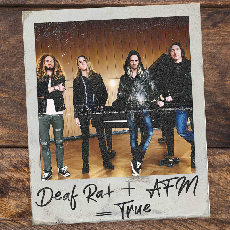 Deaf Rat sings worldwide record deal with AFM Records.