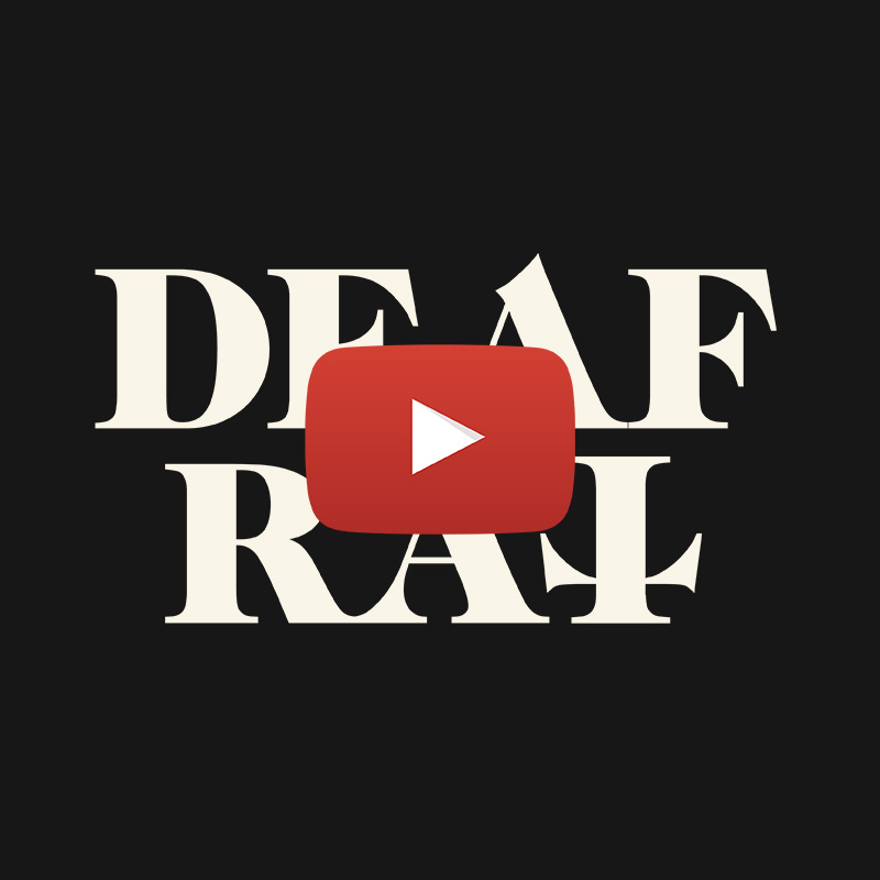 The new official DEAF RAT youtube channel is launched today.