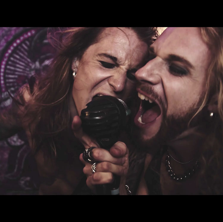 Deaf Rat single Fallen Angels music video