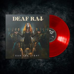 Deaf Rat Ban The Light limited edition clear blood red vinyl