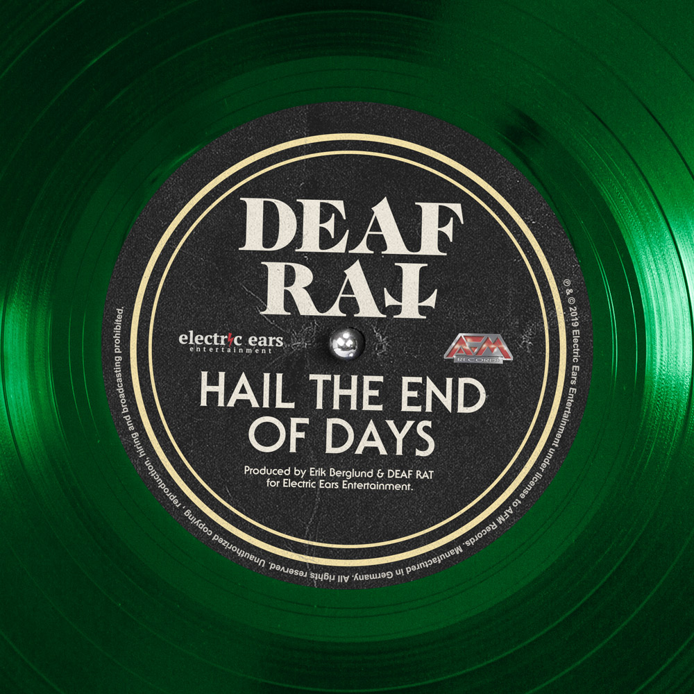 Deaf Rat single Hail The End Of Days
