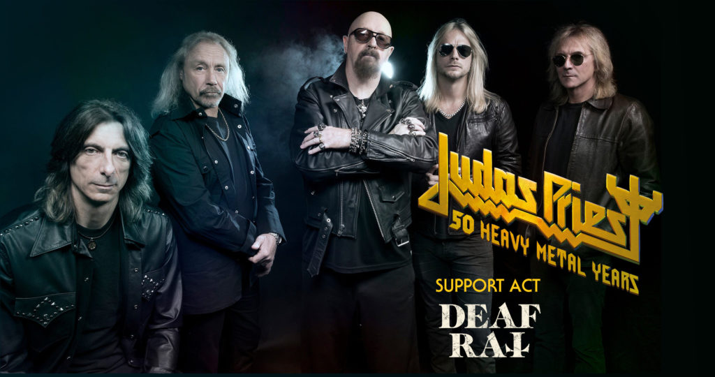 Deaf Rat announced as opening act for Judas Priest show